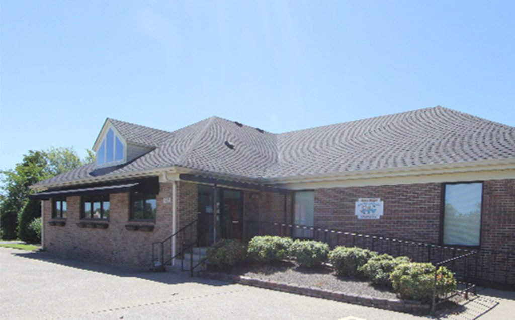 An exterior photo of Witherow Orthodontics' office in Hermitage