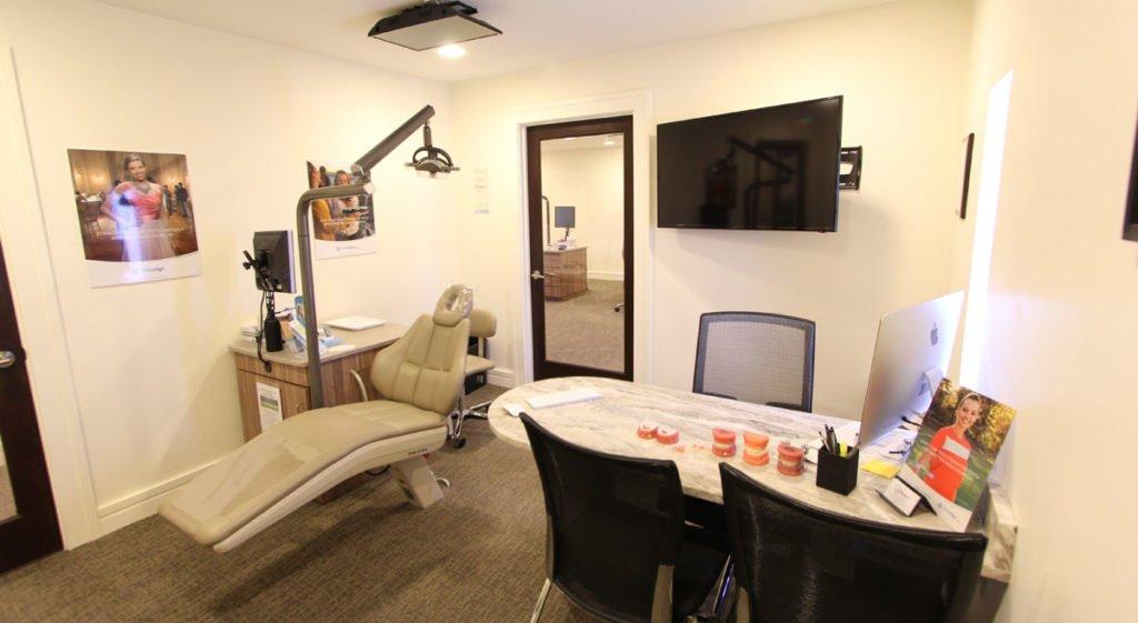 A comfortable patient room